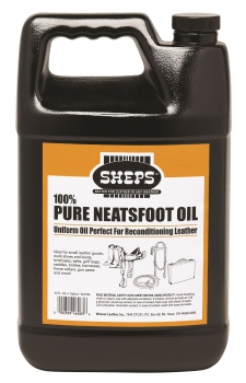 """Weaver SHEPS"" – 100% Pure Neatsfoot Oil – 8oz. / 236ml"