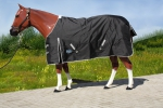 """TOUGH HORSE"" - Regendecke - 1200D - SCHWARZ - 76"" & 78"""