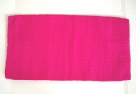 Show Blanket - EINFARBIG - 36'' x 34'' - New Zealand Wool - HOT PINK
