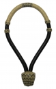 Rawhide Bosal - 36 Plaited - G-151 - Black / Natural