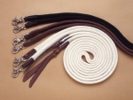 Cotton Braided Split Reins - Snap´s - BRAUN
