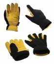 MAJESTIC Handschuhe WINTER DEER - Deerskin & Fleece mit Heatlock Lining - #1664