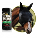 """Absorbine"" Ultra Shield Fliegenmaske mit Ohren (2018) - Gr. M (COB), L (HORSE) oder XL (WARMBLOOD)"