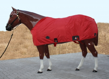"""TOP SCORE""  Nylon Sommer Sheet - ROT - 76"" (135cm)"