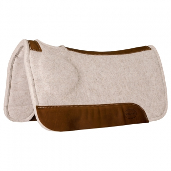 """Mustang"" Poron XRD Tan Wool Correct Fit Pad - 32´´ x 31´´ - 1´´ - 1760"