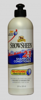 """Absorbine"" 2 in 1 Shampoo & Conditioner - 591ml"