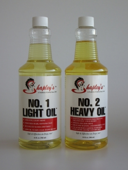 """Shapley's"" Light Oil No. 1 und Heavy Oil No. 2 - 946ml Flasche"