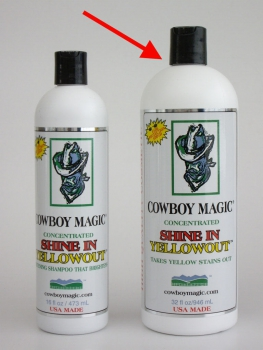 """Cowboy Magic"" Shine In Yellowout - 946ml"