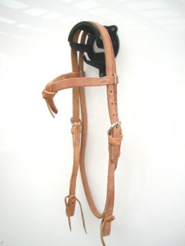 """EE Tack"" Harness Kopfstück - Herman Oak Leather - Futurity Stirnband"