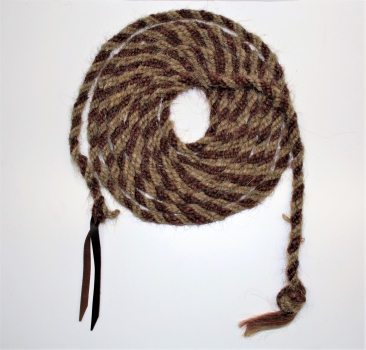 Horse Hair Mecate - 5/8´´ x 22ft. Lang - TWO TONE