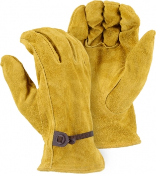 """Majestic"" Split Camel Leather Hide Glove – #1512RK"