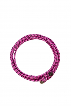 """WEAVER"" Kid´s Rope – Braided Nylon - 5/16´´ x 20´ – Hot Pink / Black"