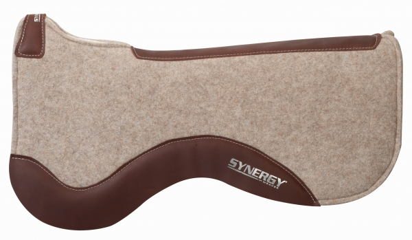 WEAVER - Synergy® Contoured Merino Wool Felt Performance Pad - Tan - 36009—5043-29