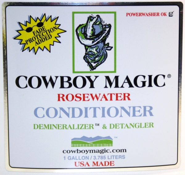 """Cowboy Magic"" Rosewater Conditioner - 3,8ltr. - GALLONE"