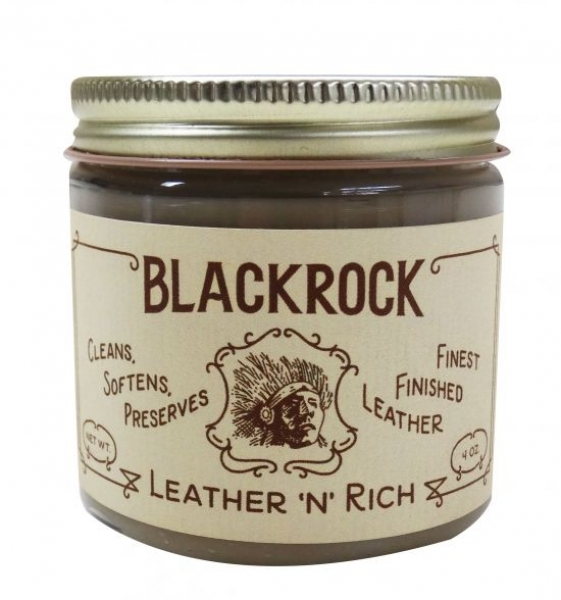 "Blackrock Leather ""N"" Rich - 4oz - 118ml - Leder Reiniger & Conditioner"