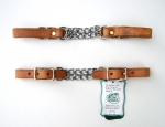 """BCL"" Double Curb Chain – 5/8´´- Harness Leather"