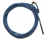 """Tough 1"" Kid / Youth Rope  - 5/16´ x 25´´ - Blue / Royal"